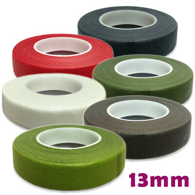 Florist Stem Tape 8 COLOURS 13mm HAMILWORTH Cake Flowers Weddings & Floral Craft