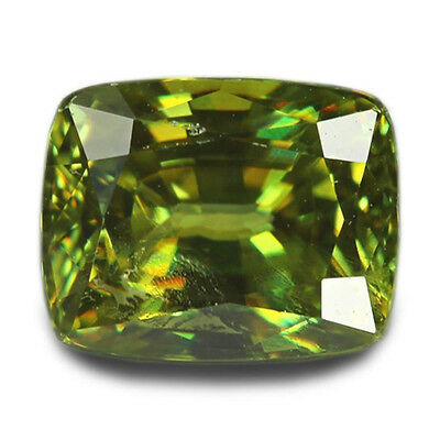 1.93 Carats Natural Madagascar Sphene Loose Gemstone - Cushion