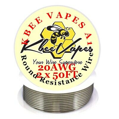 Kbee's A1 100ft Roll of 20 Gauge .81mm , 0.814 Ohms/ft Resistance Kanthal Wire