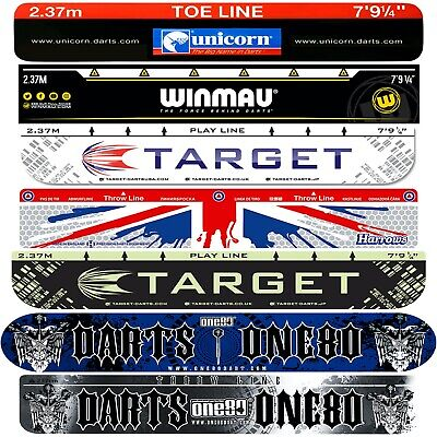 DARTS OCHE THROW LINE- Adhesive Throwline Heavy Duty Toeline Floor Sticker