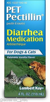 Lambert Kay Pet Pectillin Diarrhea Medication for Dogs