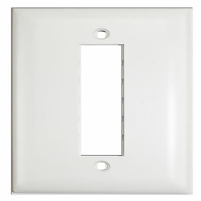 Pass & Seymour Tpd3-W Single Gang Wall Face Plate White