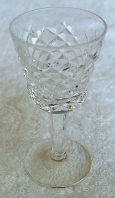 Waterford Ireland ALANA crystal cordial goblet~made in Ireland~MINT~No Reserve
