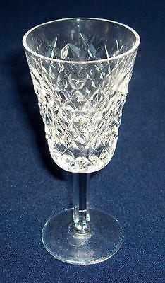 Waterford Ireland ALANA crystal sherry goblet~made in Ireland~Pristine~NR