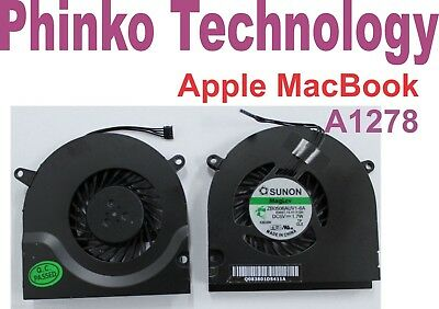 "BRAND NEW CPU Cooling Fan For Apple Macbook Pro 13"" Unibody A1278"