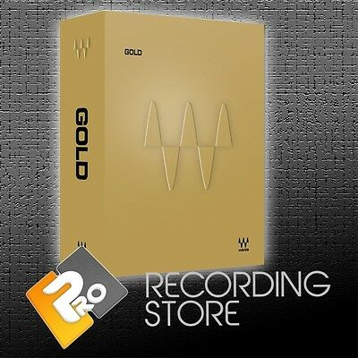 Waves Gold Bundle - Native - Pro Tools AAX 64, VST, AU - 33 Plugins - DWNLD