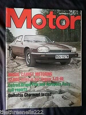 Motor Magazine - Jaguar Xjs-He - June 12 1982