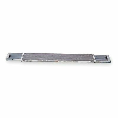 WERNER PA210 Extension Plank,10 ft. L,2 In. H