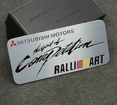 Car Auto performance Decals Badge Emblems Stickers For RALLI / ART Racing Sports