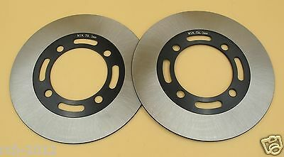 2PCS Front Brake Disc Rotor for SUZUKI LT-A400 King Quad Eiger LT-A500 LT-F500