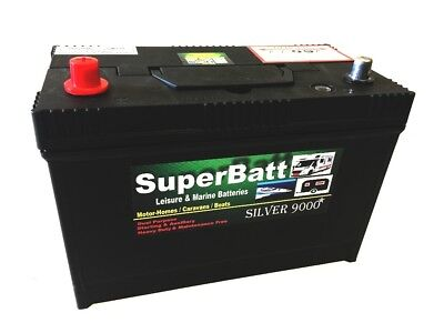 12V 120AH SB LM120 Ultra Deep Cycle Leisure Battery Motorhome Caravan Campervan