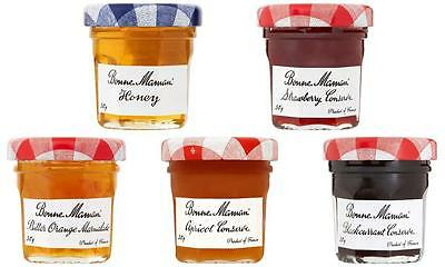 BONNE MAMAN JAMS MARMALADE HONEY 15 x 30G MINI JARS