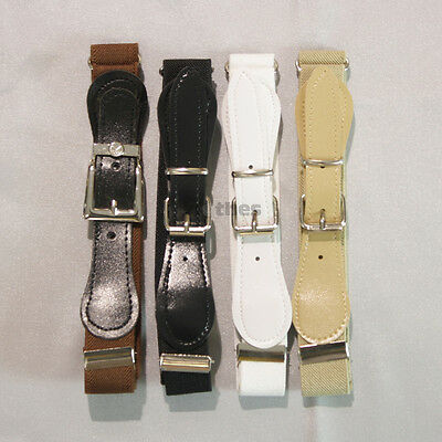 BNWT Boys Toddler Teenager Adjustable Elastic Belt Black, White, Beige, Brown