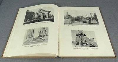 1951 Arts&crafts Iron Casting Russian Architecture Fence Sculpture Book ~Sobolev
