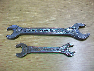 Lot 2 Vintage Wrench BARCALO BUFFALO 11/16 19/32 & OXWALL 3/8 7/16