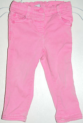 Next, Girls' Size: 9-12 months, Height 80cm  [ Pink ] Thousers