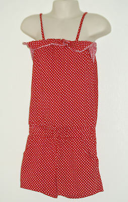 Next, Girls' Outfit Size: 5 Years  [ Red with White dots ]  Height: 110cm