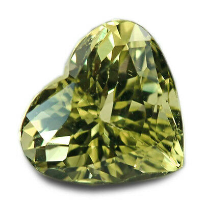 1.32 Carats Natural Tunduru Chrysoberyl Loose Gemstone - Heart