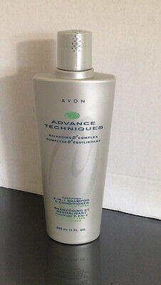 Avon Advance Techniques Balancing B2 Complex Fortifying Shampoo & Conditioner