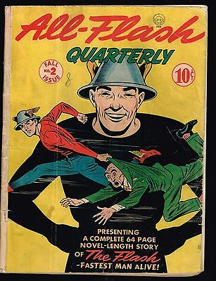 All Flash Quarterly #2 (Fall Issue) 1941 (3.0) WH