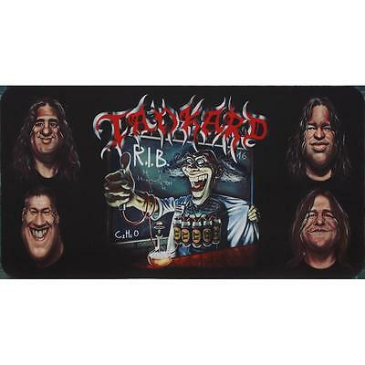 Tankard Rest In Beer Bar Towel/Mat Brand New & Official Collectors Item