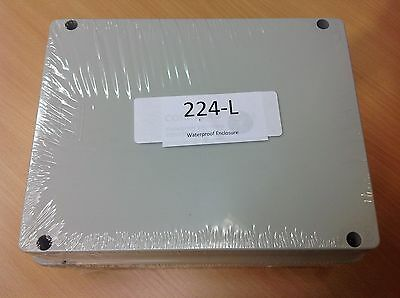 Waterproof Junction Box IP65 Adaptable Enclosure 220x170x120mm - 224-L