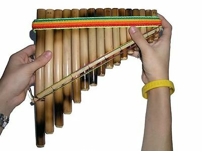 new Antara Panflute 16 pipe 1 row beginners pan flute Andean Sound easy learn