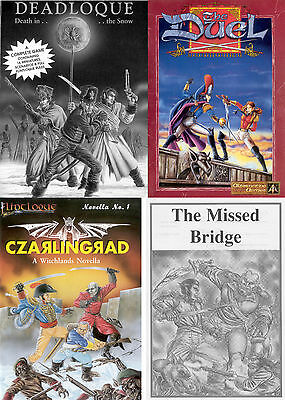 Flintloque/Slaughterloo-Deadloque-Duel-Czarlingrad-Missed Bridge/BargainBundle