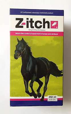 Z-itch Sweet Itch Control Pour-on Solution For Horses 250ml