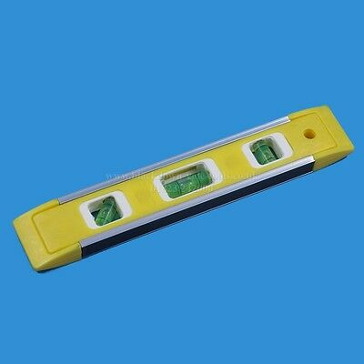 "9"" / 230mm Magnetic Torpedo Spirit Level Toolzone LV067"