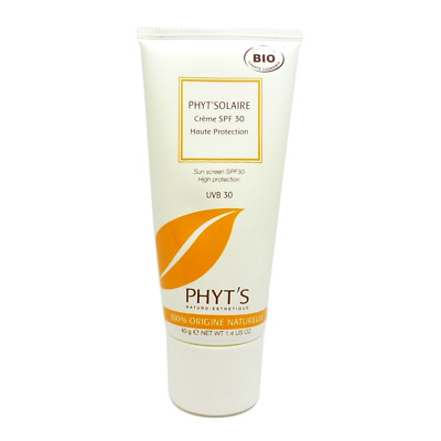 PHYT´S SOLAIRE Bio - SPF 30 Sonnen Creme Pflege - Anti Aging - 40g