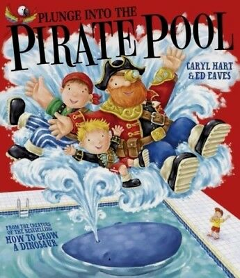 PLUNGE INTO THE PIRATE POOL by Caryl Hart : WH2-R4D : PBL568 : NEW BOOK