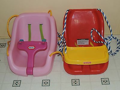 Little Tikes 2 in 1 Outdoor Swing (Pink) or  Fisher-Price Red Infant To Toddler