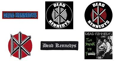 Dead Kennedys Sew On Patch/Patches NEW OFFICIAL. Choice of 5 designs