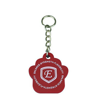 Quantum Scalar Energy (QSE) silicon pet tags for wellness support - RED