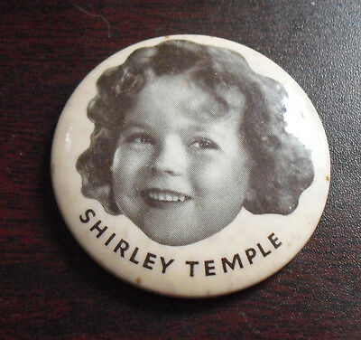 RARE Vintage 1935 Fox Films Shirley Temple Mirror Back LOOK