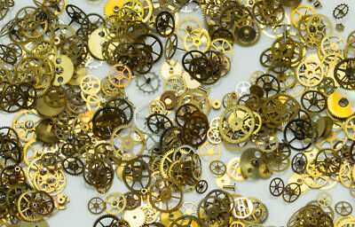 Swiss Made Cogs Gears Only Steampunk Watch Parts Art Project Crafts Jewellery