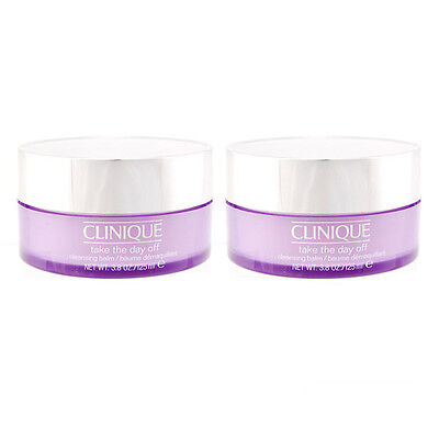 2 X Clinique Take the Day Off Cleansing Balm 125ml Skincare Cleansers #3030_2