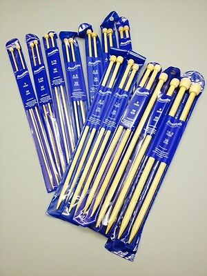 Bamboo Knitting Needles & Knitting Pins Whitecroft Essentials 3mm - 10mm x 30cm