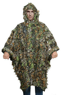 Tactical Military 3D Camouflage Net Cloak -32852