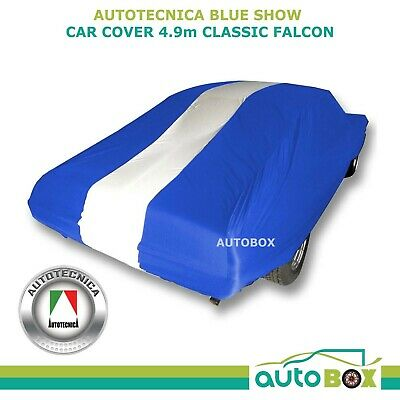 SHOW CAR COVER INDOOR DUST CLASSIC BLUE FALCON XA XB GT GS SOFTLINE fits to 4.9m