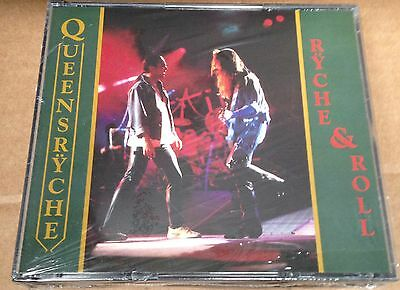 QUEENSRYCHE - RYCHE & ROLL - 2 CD LIVE  - NO CDr RARO SEALED MINT