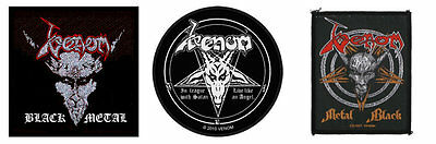 Venom Sew On Patch/Patches NEW OFFICIAL. Choice of 3 designs