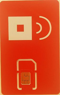 Prepaid Red Pocket Mobile Sim. use AT&T Go phone & GSM network  iphone 3G/4/4S