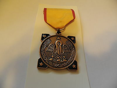 Louisiana Honorable Emergency Service Type Ii State Ng Medal