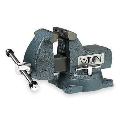 WILTON 746 Mechanic's Vise, Swivel, 6 In Jaw, DI