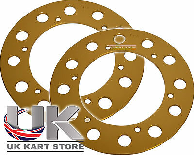 Senzo Alloy LW 219 Pitch Sprocket Protector 194mm (77t) x 2 UK KART STORE
