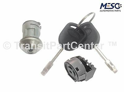 Ignition Switch & Lock (Barrel) With 2 Keys Ford Transit Connect