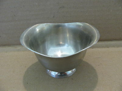 Stainless steel Royal dolphin sugar bowl