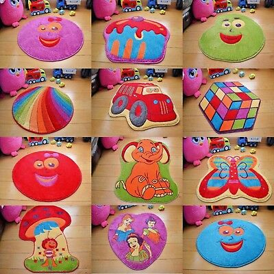 New Kids Nursery Colourful Bright Bedroom Playroom Boys Girls Play Quality Rug